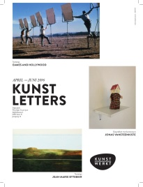 Kunstletters april 2016 _cover